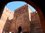 Entrance to Red Fort, Agra