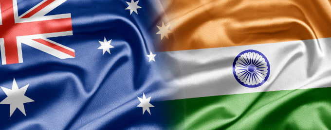 Australian-and-Indian-flags