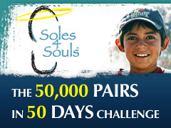 50 000 Shoes in 50 Days